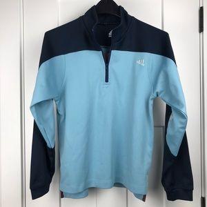 Adidas medium quarter zip running pullover